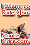 Blonde Rider